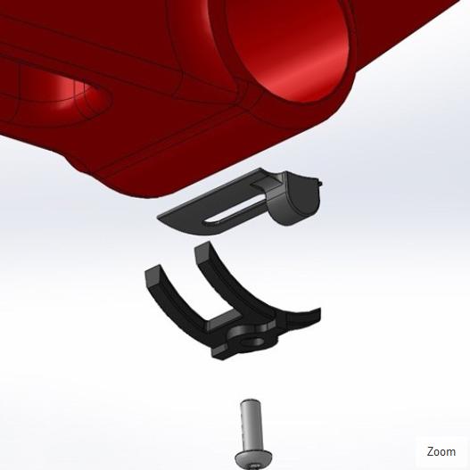 SRM Bottom Bracket Cadence Magnet