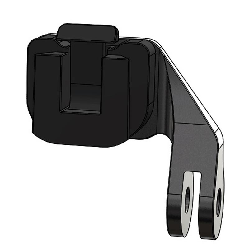 SRM PC8 Trek and Gopro clip
