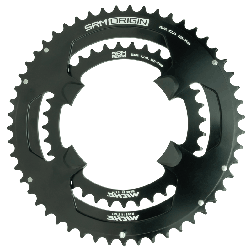 SRM Origin Campagnolo 12s chainrings